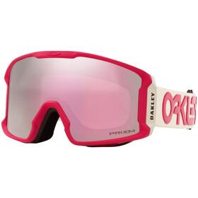 Oakley Line Miner XM Snow Goggles factory pilot rubine grey-hi pink